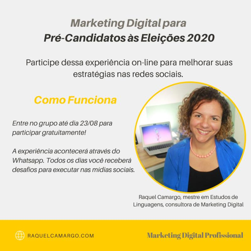 marketing digital eleicoes 2020